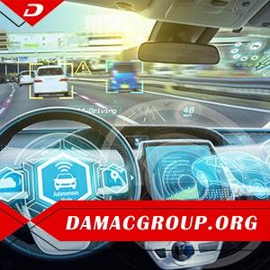 خودروهای بدون سرنشین در دبی