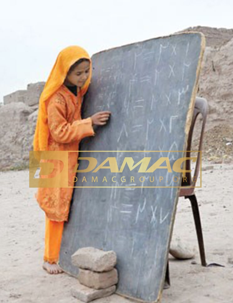 ساخت مدارس مختلف در مناطق محروم ایران توسط داماک