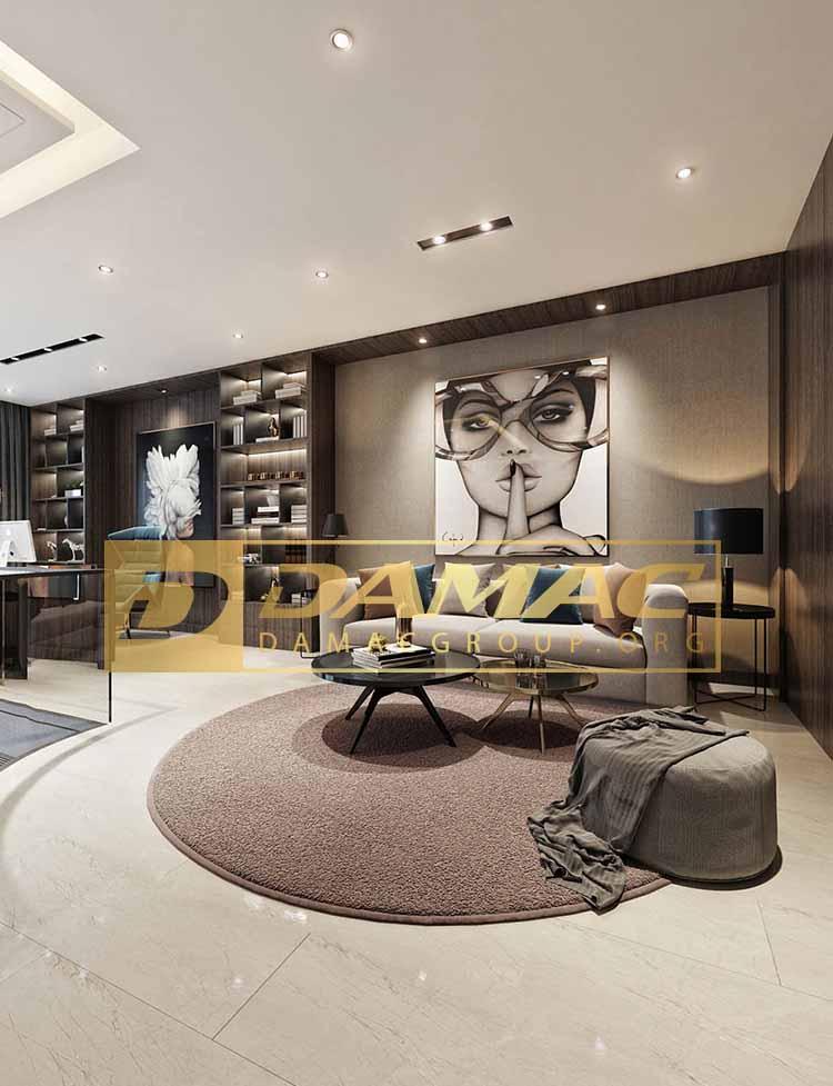 اقامت دائم امارات از طریق خرید ویلا و آپارتمان داماک