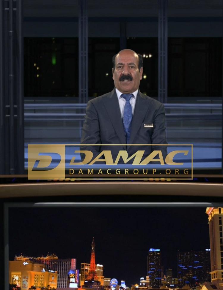 علی ادیب نیا در شبکه تلویزیونی داماک