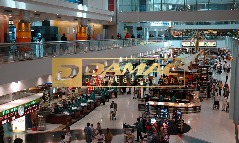 راهنمای فرودگاه دبی