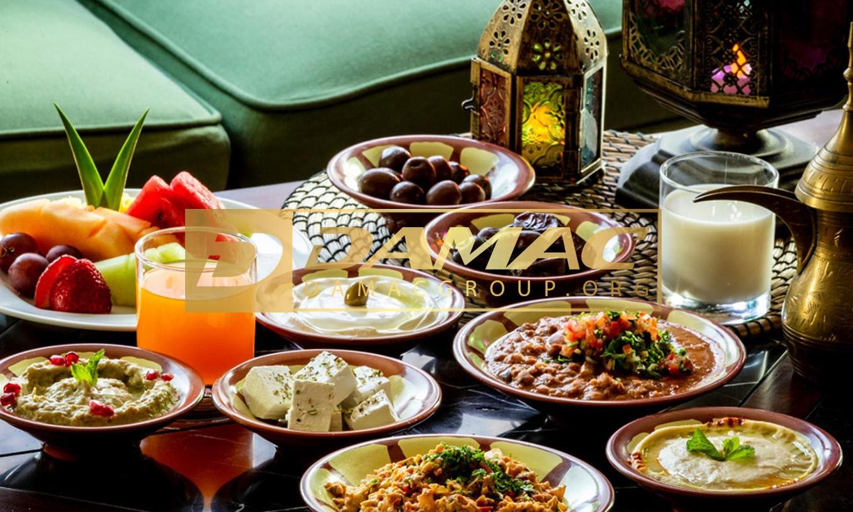افطار لاکچری در امارات