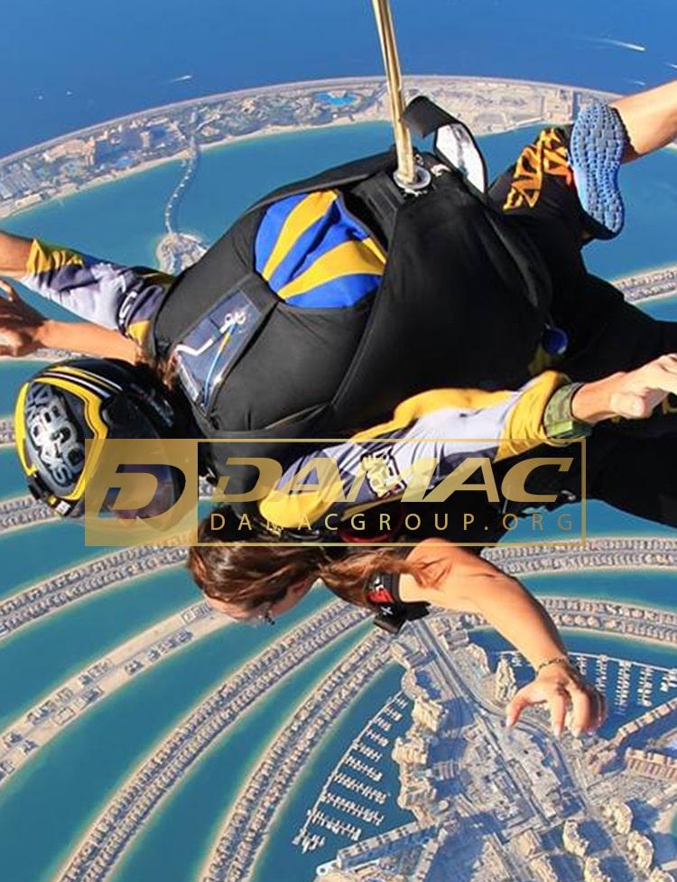 تفریحات هیجان انگیز در دبی