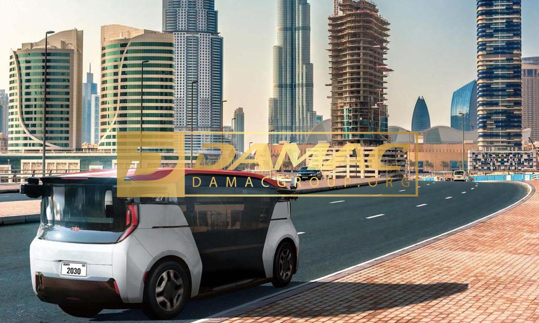 ربوتاکسی برای اولین بار در دبی!