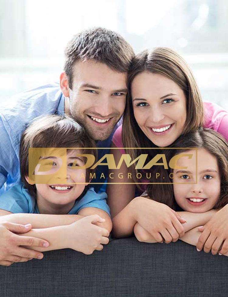 صدور اقامت خانواده در دبی با داماک