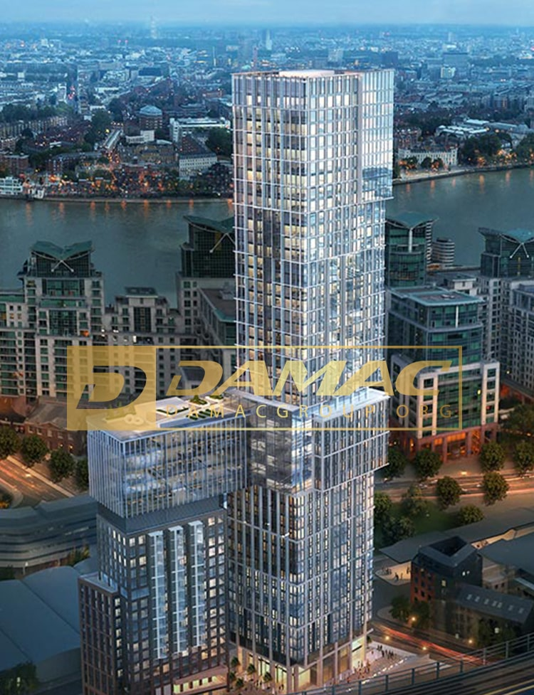 آیکون تاورز لندن با دکوراسیون ورساچه